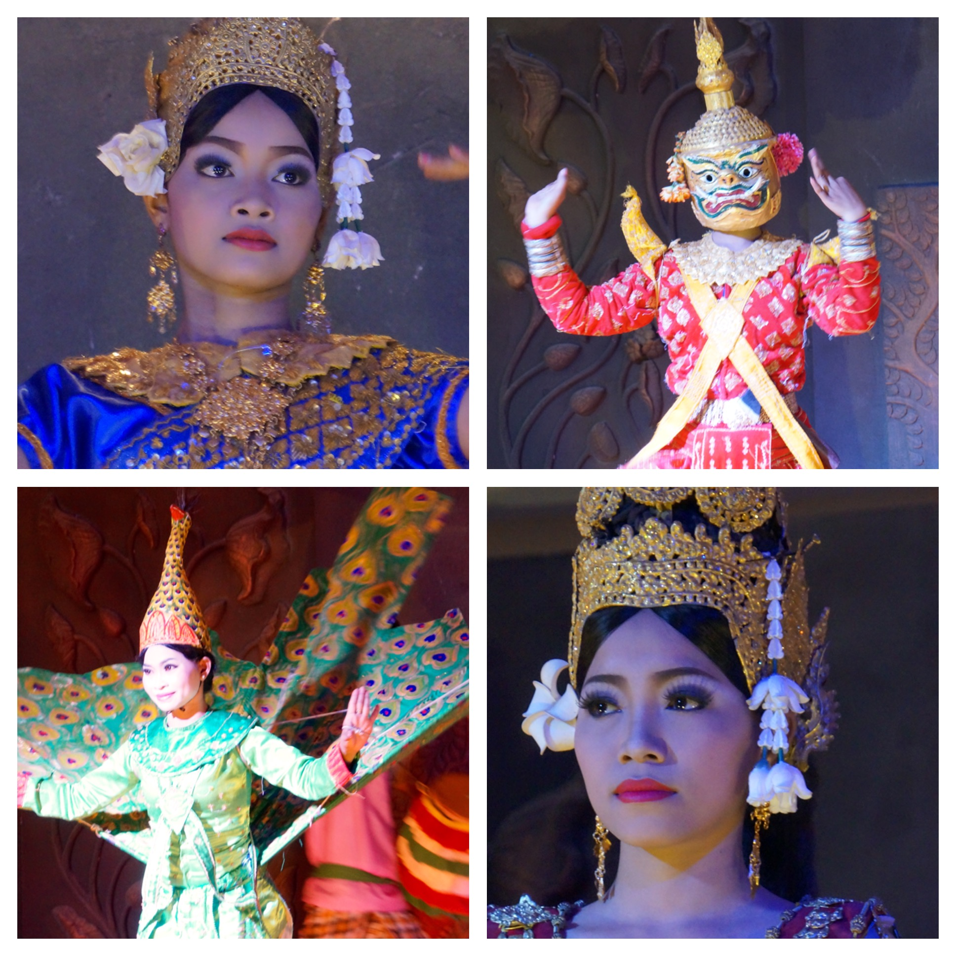 Dine ear with traditional Cambodian dances