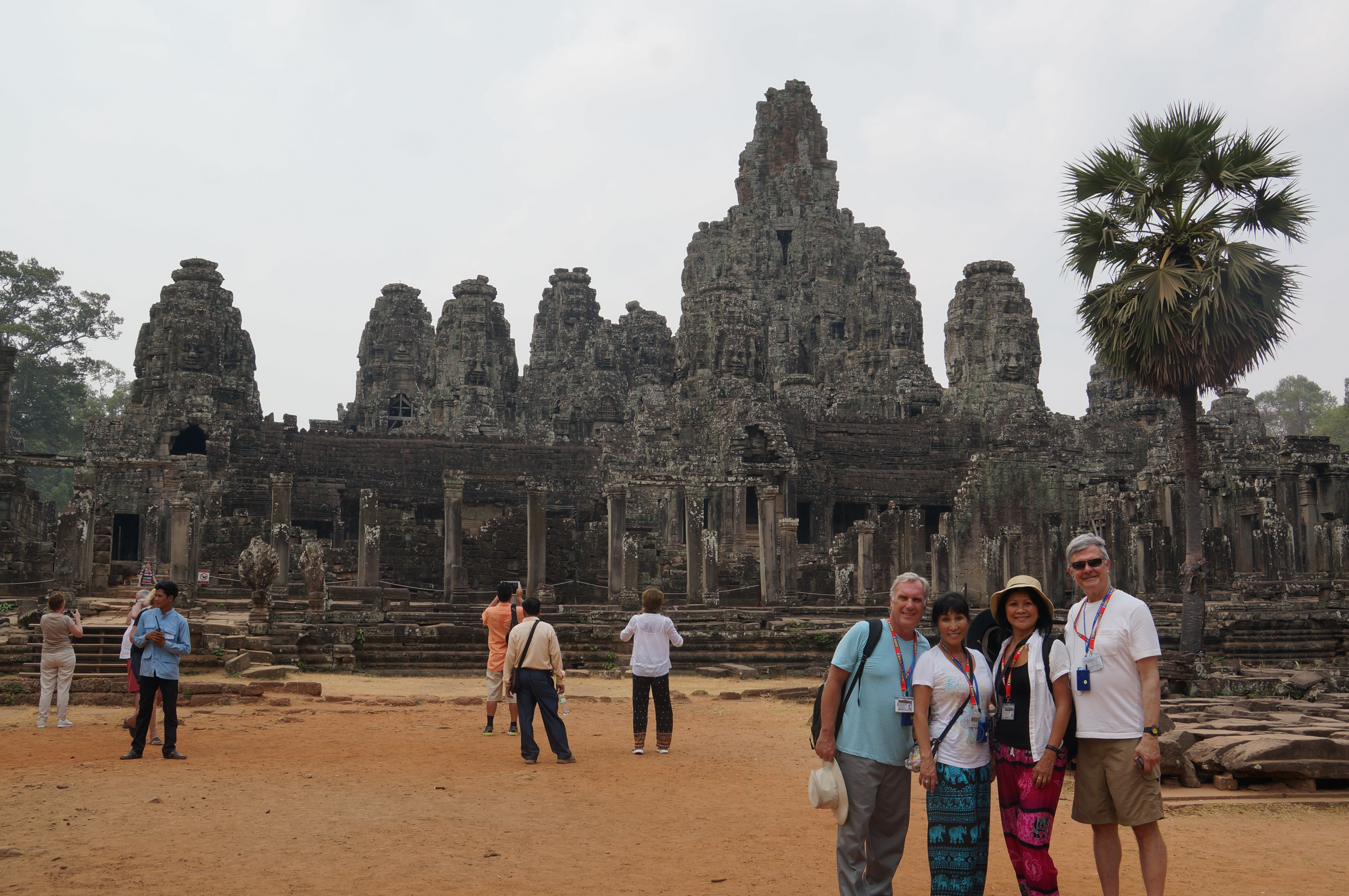 Bayon Temple...52 pillars with 4 sided Buddha faces.